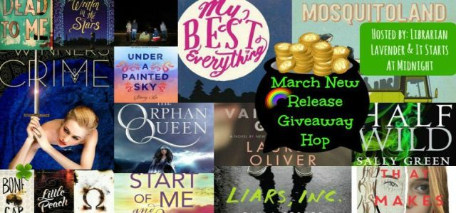 March 2015 giveaway banner